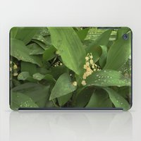 Old Lilies iPad Case