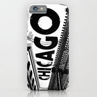 Cities in Black - Chicago iPhone 6 Slim Case