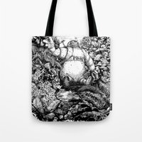 A long time ago... Tote Bag