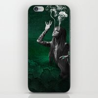 The Fear Of The Unknown iPhone & iPod Skin