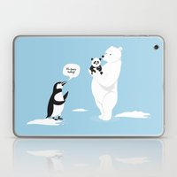 How Little Pandas Are Bo… Laptop & iPad Skin