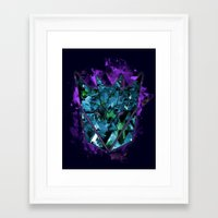 Decepticons Abstractness… Framed Art Print