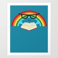 Brainbow Art Print