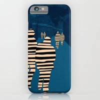 iPhone Cases featuring walking for oblivion by juni