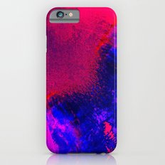 02-14-36 (Red Blue Glitch) Slim Case iPhone 6s