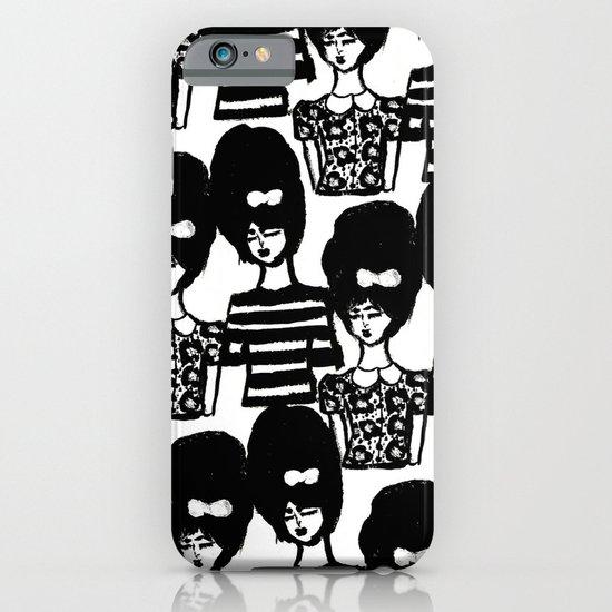 Bouffant Girls iPhone & iPod Case