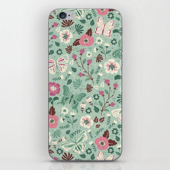 Garden Butterflies  iPhone & iPod Skin