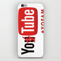 YOTUBE iPhone & iPod Skin