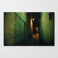 Darkway Canvas Print