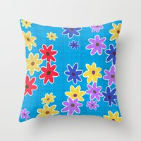 Floral Pattern New Throw Pillow