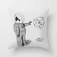 Curiosity Throw Pillow