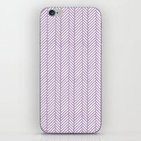 Herringbone Orchid iPhone & iPod Skin