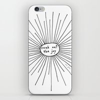Seek Out The Joy iPhone & iPod Skin