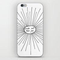 seek out the joy iPhone & iPod Skin