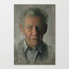 Sir Ian Mckellen Canvas Print