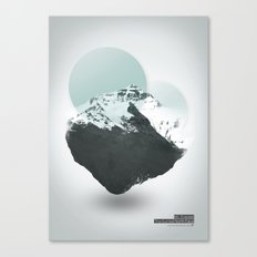 Mt. Everest - The Surreal North Face Canvas Print