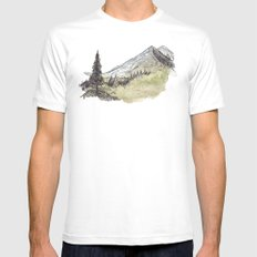 Fresh Mountain Err Mens Fitted Tee SMALL White