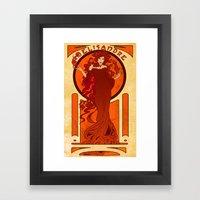 Melisandre of Asshai Framed Art Print