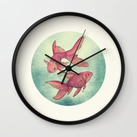 Goldfishes Wall Clock