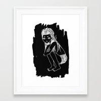 Die Antwoord : Yolandi Visser Framed Art Print