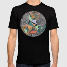 Three Districts Mens Fitted Tee Black SMALL