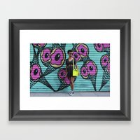 Volume Framed Art Print