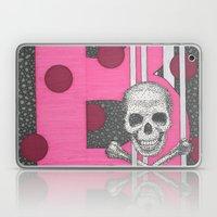 Pink Skull B Laptop & iPad Skin