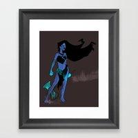 Pocahontas Takes No Pris… Framed Art Print