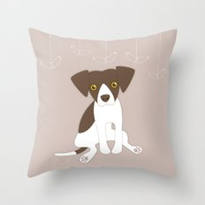 Dave the Dog Throw Pillow