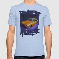 55 Gasser Mens Fitted Tee Athletic Blue SMALL