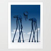 Dali's Mechanical Elepha… Art Print