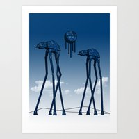 Dali's Mechanical Elepha… Art Print