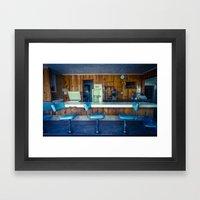 Antelope Cafe Framed Art Print