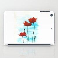 Poppies iPad Case