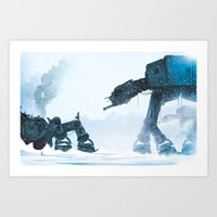 Out For A Stroll... Art Print
