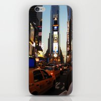 New York Streets. iPhone & iPod Skin