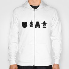 cowardly lion, tin man, dorothy & scarecrow Hoody