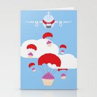 operation cupcake Stationery Cards