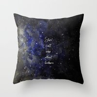Stars Cant Shine Without… Throw Pillow