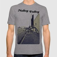 Nalley Railway Mens Fitted Tee Athletic Grey SMALL