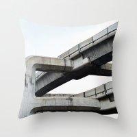 Concrete O1 Throw Pillow