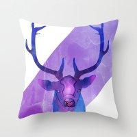 RUDOLF? Throw Pillow