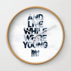 Live While We're Young - 1D Wall Clock
