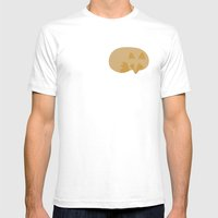 Resting Renard Mens Fitted Tee White SMALL
