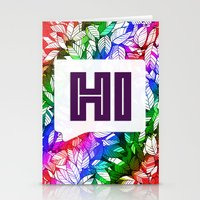 Hi Stationery Cards