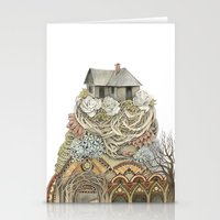 Sweet Home I // Forest I… Stationery Cards