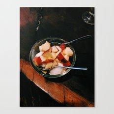 Apple Fro-Yo Canvas Print