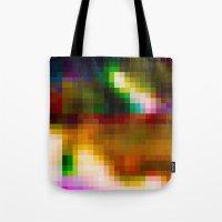 Glitch 003 Tote Bag