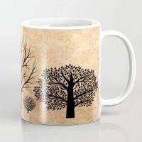 Trees Silhouette  Mug