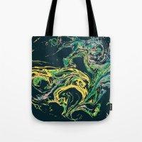Swirling World V.1 Tote Bag